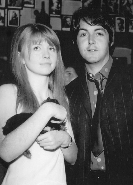 Paul and Jane with a cuddly friend :)