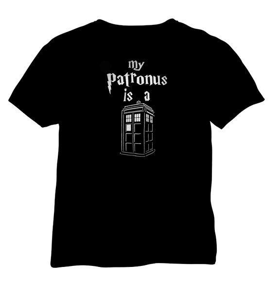Doctor who  mon patronus est un tardis par MaidenMoonApothecary