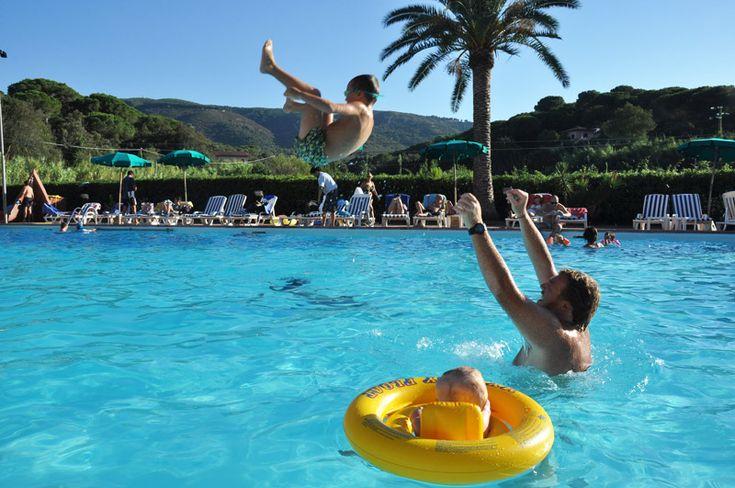 Nella nostra piscina...si vola!