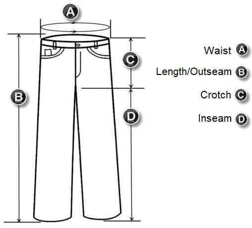 tailor+pants+measuring+chart | Calças de equitação Monstro Motociclismo Vestuário Suit Energia ...