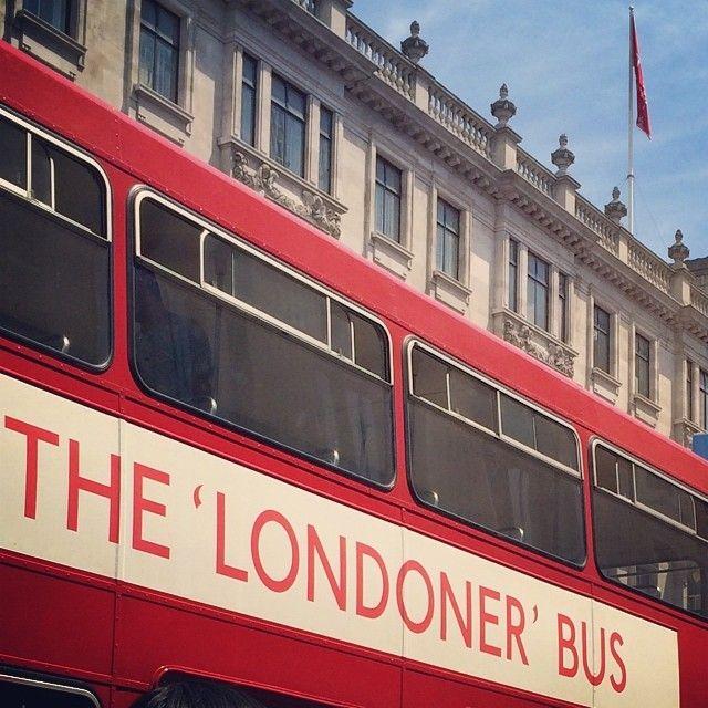 #regentstreet #london #yearofbus2014 - Samanakarimian