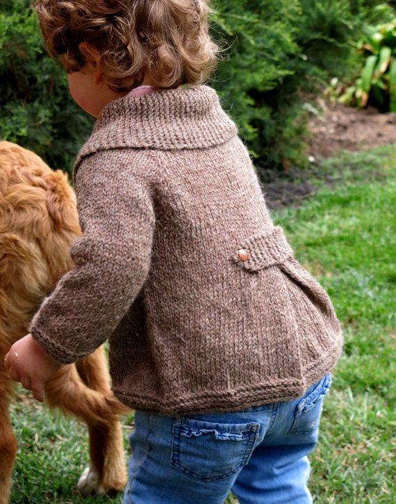 Wonderful alpaca wool coat. Hand knitted by MGPtejidos on Etsy