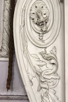 Detail of a console from the hard stucco chimneypiece by Joseph Rose the Elder to a design by James Paine, in the Dining Room at Felbrigg Hall, Norfolk (1752) by Rubens1577