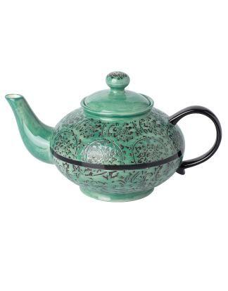 TOKYO teapot dark green   Carafes/pitchers   Ceramic/glass   Glass and Porcelain   Interior   INDISKA Shop Online
