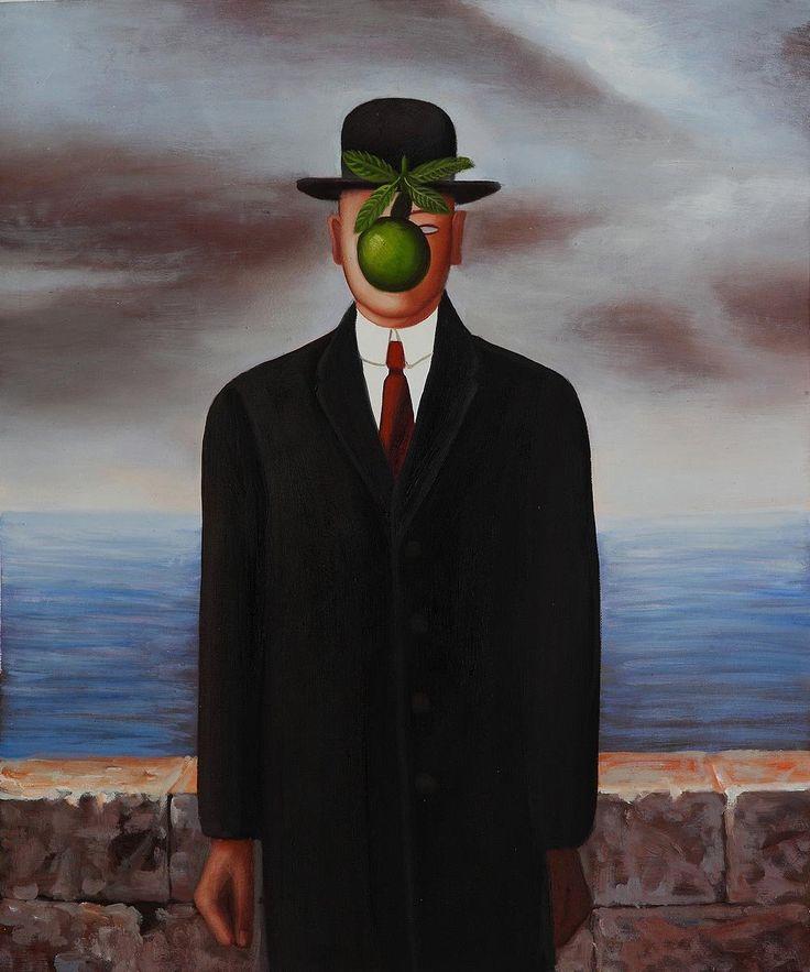 Υψηλή ποιότητα μουσείο Rene Magritte χειροποίητα ελαιογραφίες αναπαραγωγή, έργα τέχνης ζωγραφισμένα στο χέρι ελαιογραφίες deco-σε καμβά ζωγραφικής από το Γραφείο & Σχολικά στις Aliexpress.com