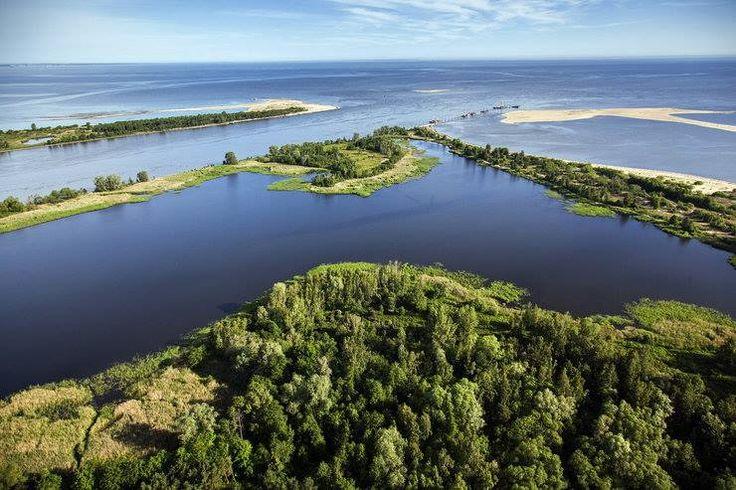 Mikoszewo, Rezerwat Przyrody Mewia Łacha