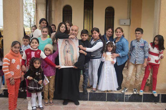 Ampara Virgen de Guadalupe a los cristianos perseguidos en Irak