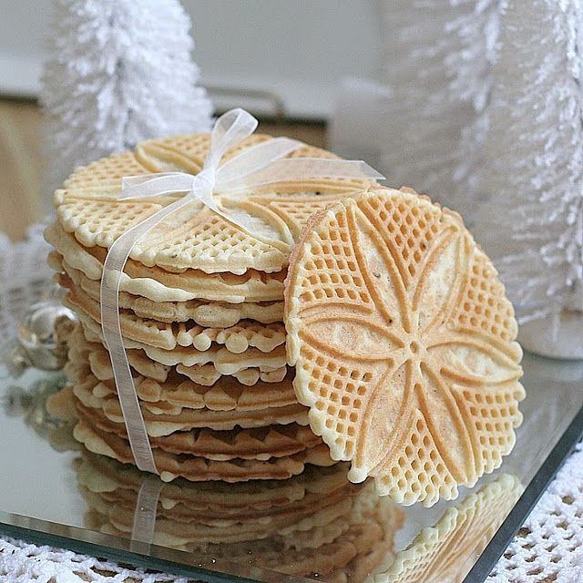Pizzelles; my faves