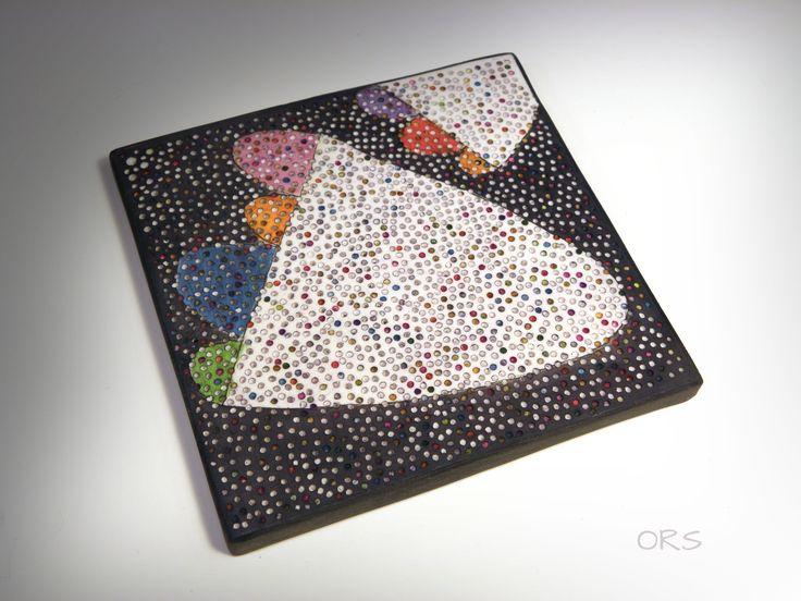 FIMO 50 World project tile from Nikolina Otrzan, Croatia