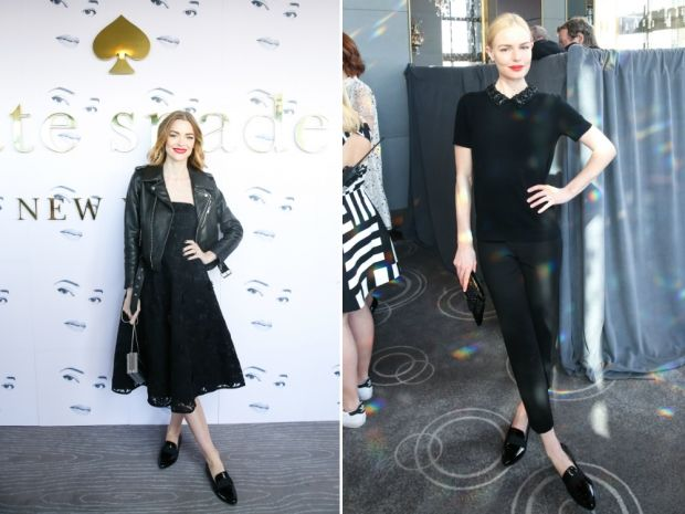 Jamie King and Kate Bosworth in Kate Spade