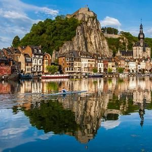 365 WONDERS OF THE WORLD: #113   Dinant in Belgium is known for its magnificent architecture and great views.This little town sparkles along the Meuse River in the province of Namur and can be found about 40 miles south of Brussels  Read more>>  http://www.travelstart.co.za/lp/europe/belgium  #365wondersoftheworld  #travelstart #belgium #europe