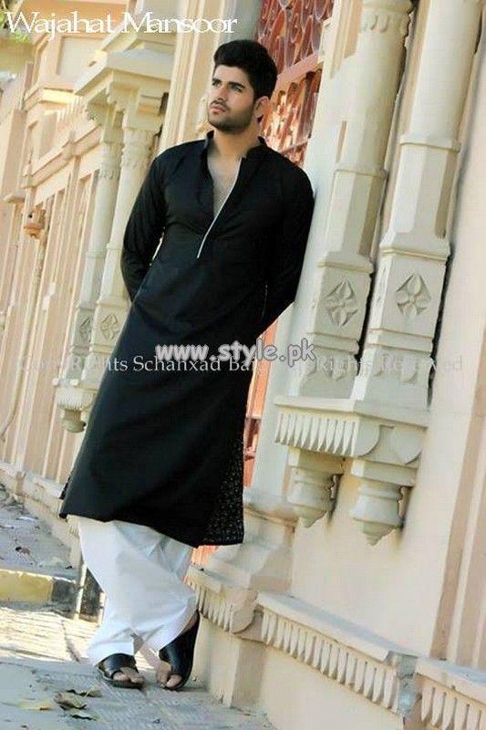 Wajahat Mansoor Eid Collection 2013 For Men