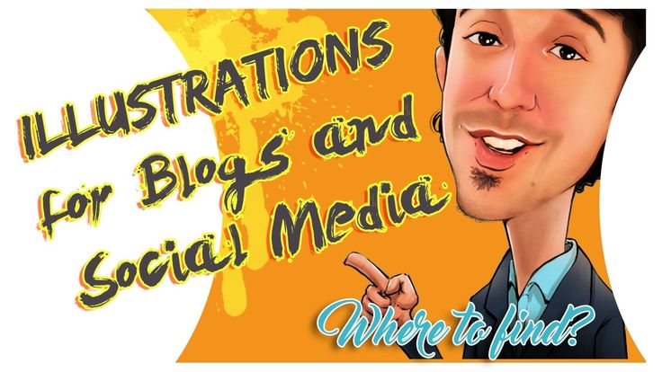 Illustrations for Blogs and Social Media - Where to find?