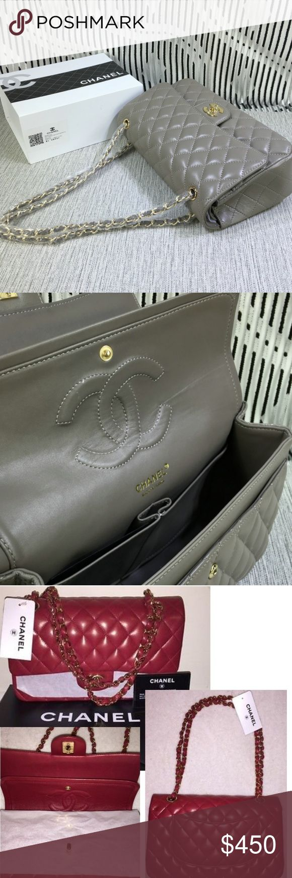 Lambskin Caviar Leather Bags I have a variety of colors available with both silver and gold hardware P. Ay P. Al payment $300 These are obviously dupes ...don't ask silly questions,not everyone can afford real ones, Thank You  I sell through a P. Ay P. Al business account so you get shipping and tracking CHANEL Bags