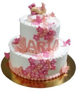 Tort-botez-Floricele-Roz