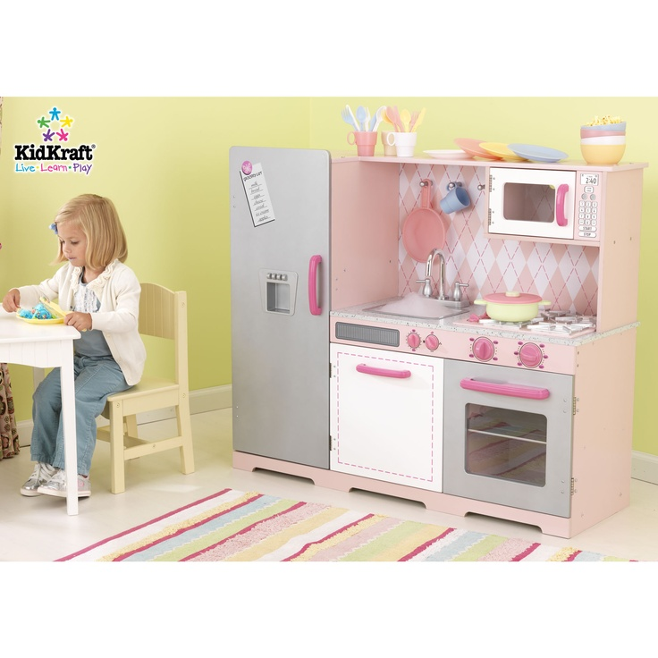 Play Kitchens For Girls: Girls Play Kitchen