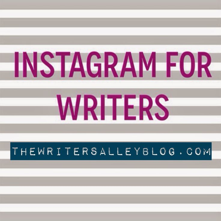 """""""There's a new social media sheriff in town: Instagram. And it's not just for teenagers. Here's how you can utilize this valuable platform to connect with other writers and potential readers – over 200 million of them."""""""