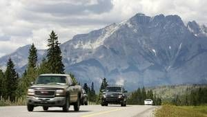 """How to plan the perfect cross-Canada road trip: How long will it take? """"If you're stopping at roadside attractions and enjoying meals and breaks along the way, plan for 300 kilometres to 400 km a day. Aim to arrive before 6 p.m., leaving comfortable time for dinner and relaxation. At that pace, you can cross Canada (one way) in two weeks."""""""