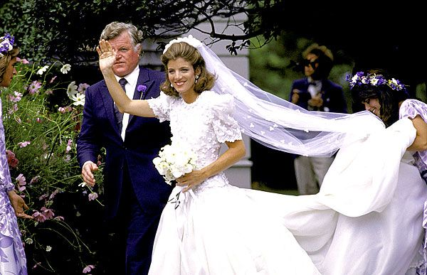 The Best Dressed Celebrity Brides of All Time | Caroline kennedy ...