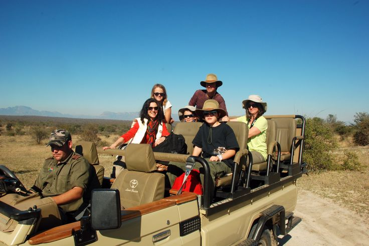 Open game drive vehicle - Mohlabetsi Game Reserve