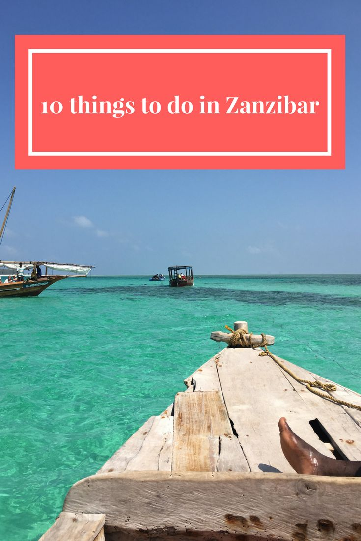 Top 10 things to do in Zanzibar Island, from island tours to swimming with dolphins to kite surfing, find out what you can choose from during your vacation here.