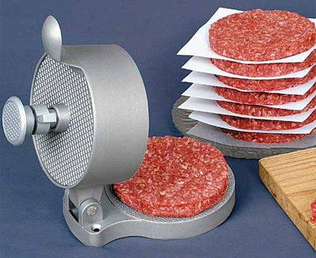 Hamburger press cool stuffs pinterest utensilios for P kitchen dc united