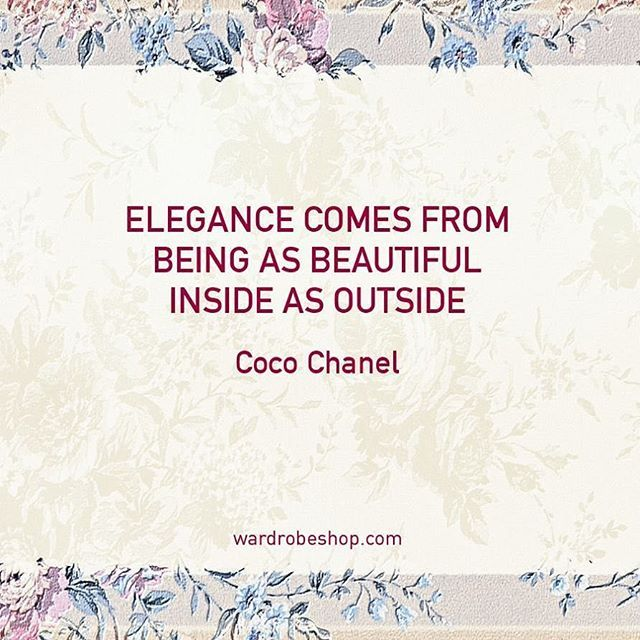 #wardrobeshop #vintage #fashion #style #quotes #qoute #fashionquotes #quotestagram #quotesoftheday #truewords⠀⠀ #followme #wedding #vintagestyle #cocochanel #cocochanelquotes