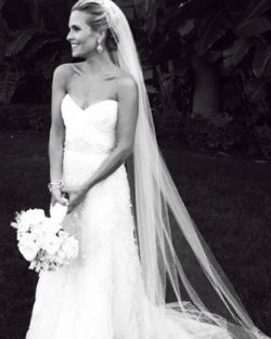 Beautiful updo with veil