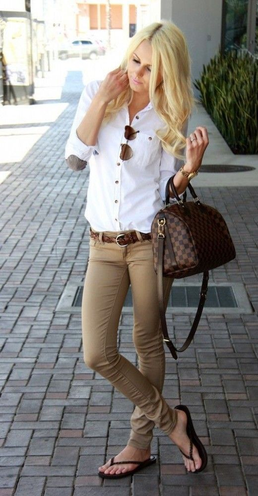 fantastic khaki pants outfits for women