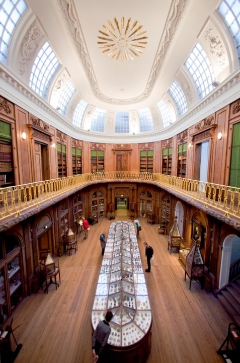 Teylers Museum - The Netherlands' first and oldest museum, open to the public since 1784.  (Art/History/Science Museum - Haarlem)