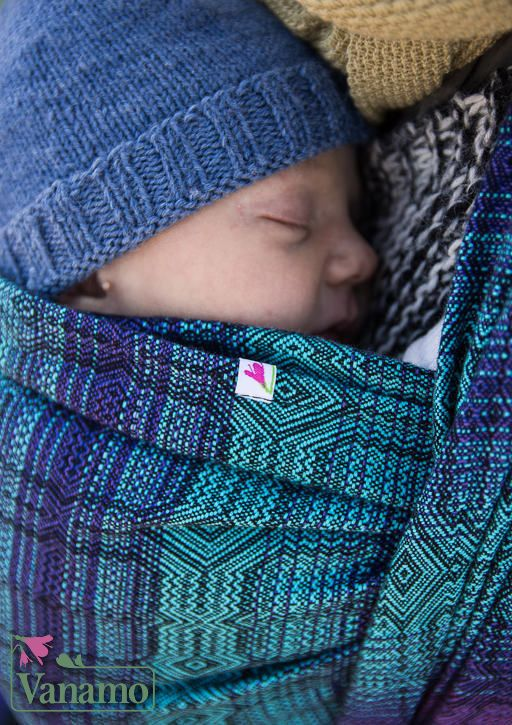 Vanamo Kide Kosmos Woven Wrap (organic cotton) - IN TRANSIT