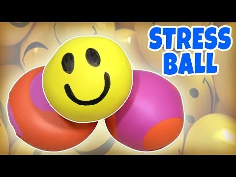 Learn how to make Stress Balls | Squishy Balls | DIY Toys for Kids from Hooplakidz How To - YouTube