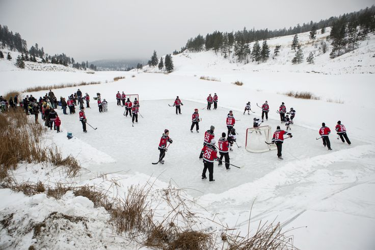 Kelowna properties....play hockey on the pond with the Kelowna Rockets