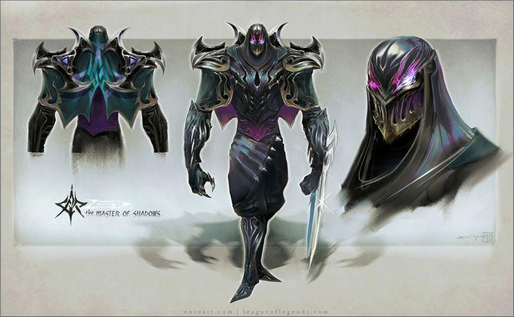 League Of Legends Character Design Contest : Zed league of legends character design