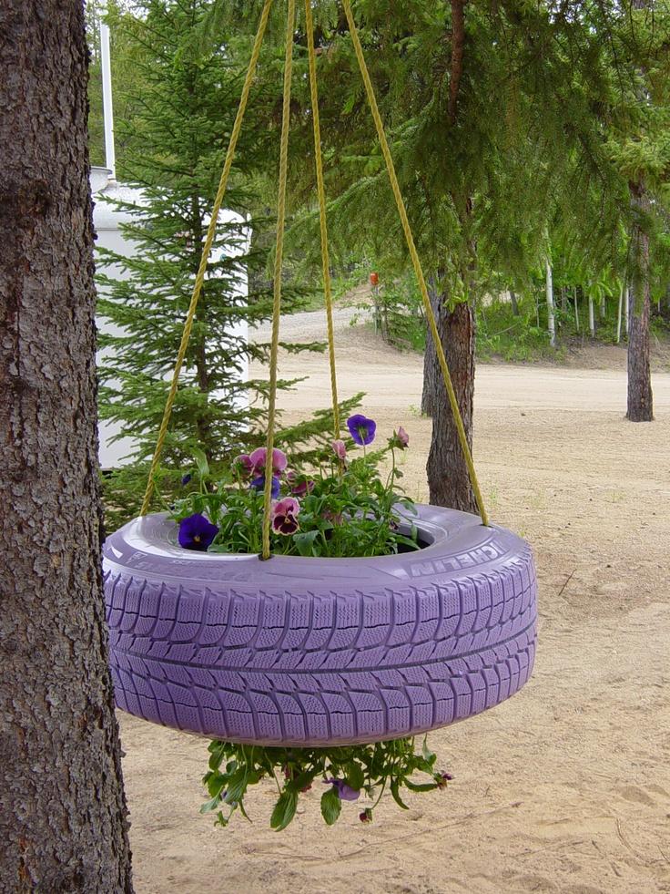 tire garden 7