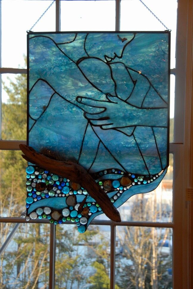 17 best images about traumzeit stained glass on pinterest for How to make stained glass in driftwood