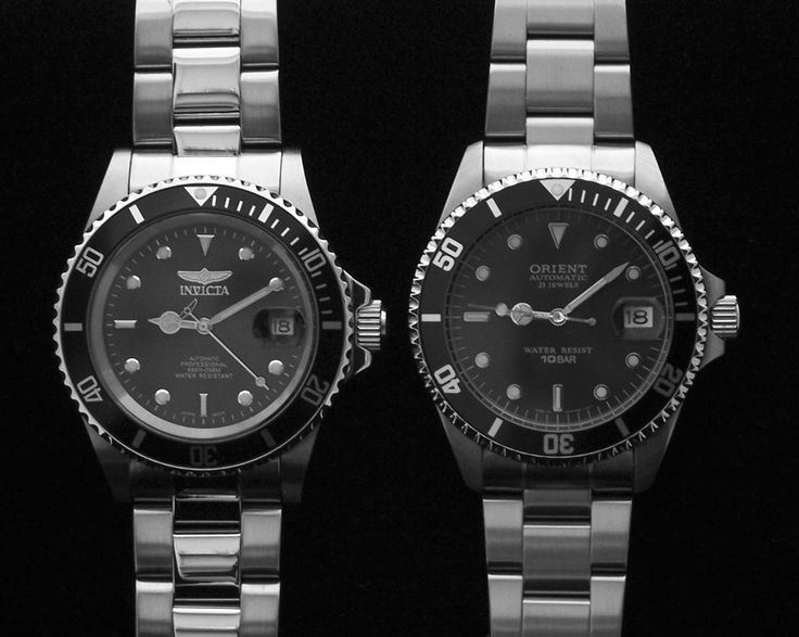 """Poor Man's, or maybe """"Sensible Man's"""", Submariner - Invicta 8926 vs. the Orient 2ER00001B. Not everyone can justify a 5 thousand dollar rolex...."""