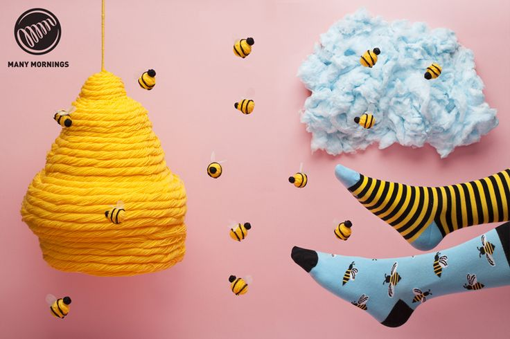 New at our store: http://bit.ly/SocksBees