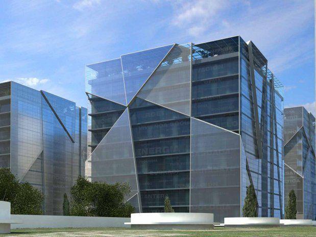 GEODA 2055. 2010 Mondragón. España 105.000 m2 . Habitat autosuficiente, sostenible y bioclimático, proyecto del arquitecto Luis de Garrido | http://DomoticaViva.com