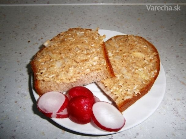 Oškvarková nátierka (fotorecept) - Recept