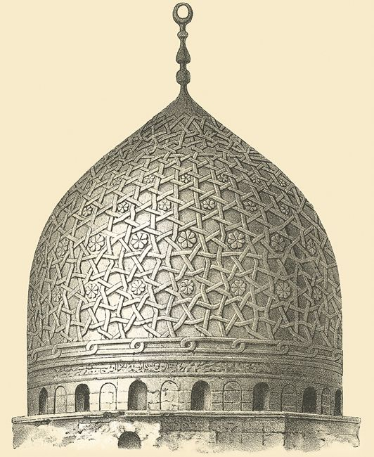 © Dover Publications, islamic temple