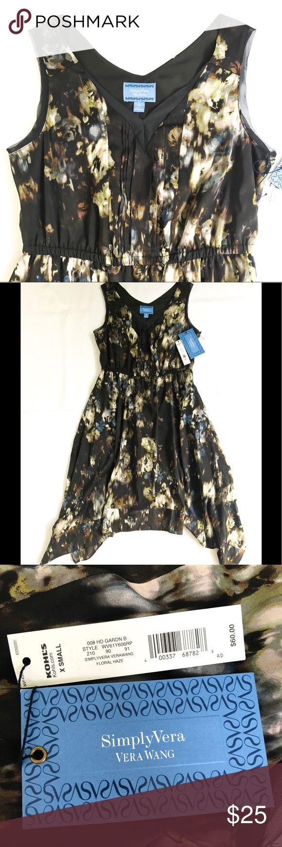 Simply Vera flowy dress Simply Vera by Vera Wang flowy dress Simply Vera Vera Wang Dresses Midi