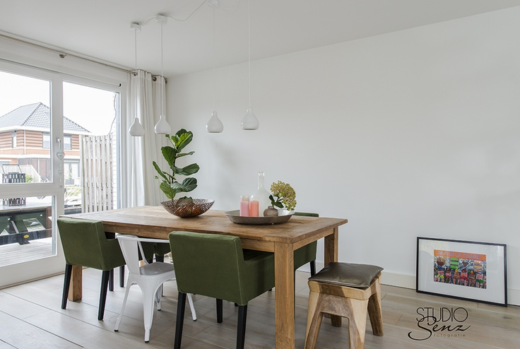 Canalhouse Almere Wooden dining table  Photography: Studio Senz