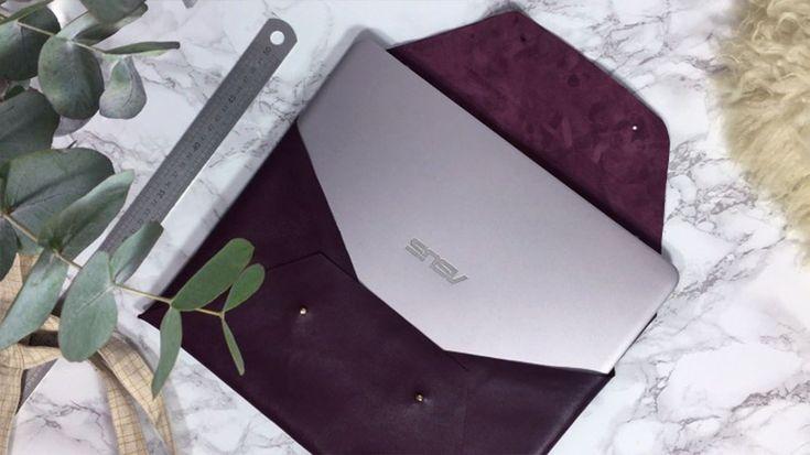 Un tuto ultra rapide pour se confectionner en moins d'une heure une jolie pochette pour son ordinateur portable. Le DIY est filmé avec amour.