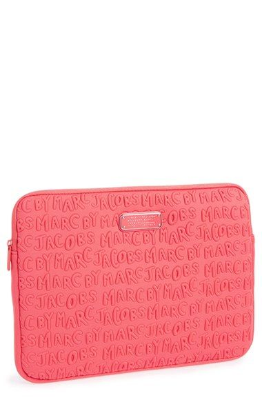 MARC BY MARC JACOBS 'Logo' Laptop Case (13 Inch) available at #Nordstrom
