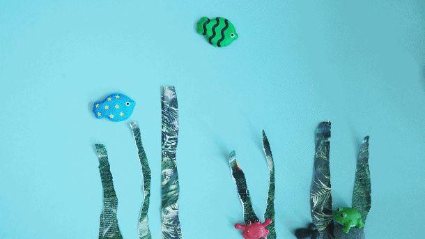 회접시로 무지개 물고기 만들기 :: 너랑 나랑 그리는 그림 by Enid & Cherryyang