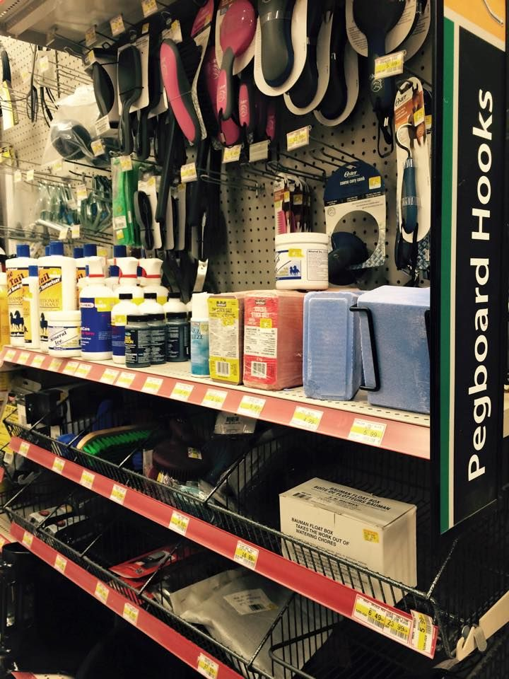 Did you know at POPS we sell your basic equine necessities !!! #HomeHardware #equine #horse #brushes and more !! come on in and check it out!