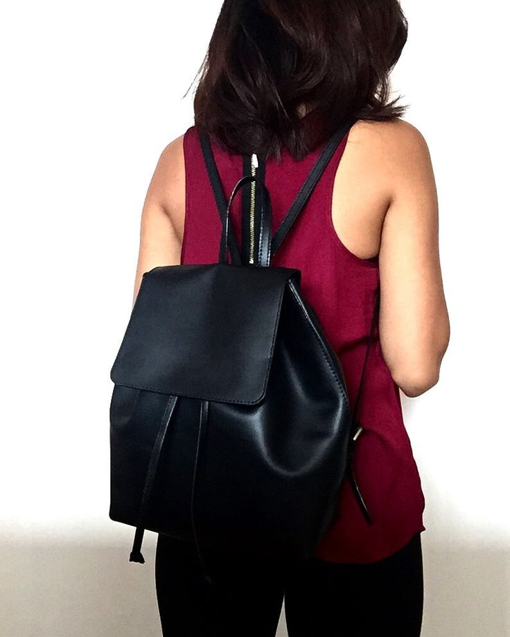 women's backpack by Leatherhood91 on Etsy