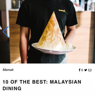 Mamak - home to the best Malaysian food