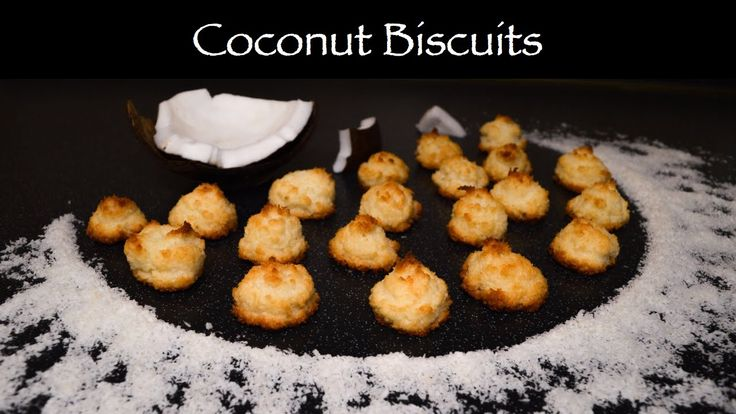 Coconut Biscuits - nicely soft cookies, perfect for tea time!